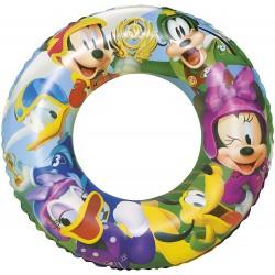 Schwimmreifen Aufblasbar Mickey Mouse Clubhouse 56 Cm Bestway 91004b