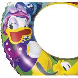 Schwimmreifen Aufblasbar Mickey Mouse Clubhouse 56 Cm Bestway 91004b | Poolsweb
