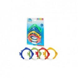 Dive Aquatic Rings Set Intex 55507 | Poolsweb