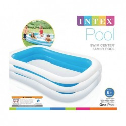 Inflatable Pool Intex 56483 Von 262x175x56 Cm.   Poolsweb