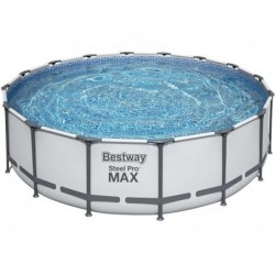 Steel Pro Tubular Abnehmbarer Pool 488x122 Cm. Bestway 5612z
