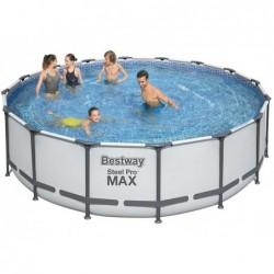 Steel Pro Tubular Abnehmbarer Pool 488x122 Cm. Bestway 5612z | Poolsweb