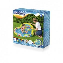 Aufblasbarer Kinderpool 120x117x46 Cm. Mit Spielzeuge Bestway 52378   Poolsweb