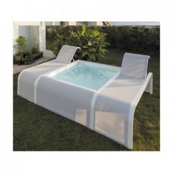 Pool 282x219x60 cm. Schmetterling Gre PBT201