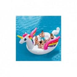 Aufblasbare Insel Intex 57266 Von 503x335x173 Cm Einhorn | Poolsweb