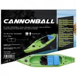 Kayak Cannonbal der Marke Kohala 400x84x36cm von Ociotrends KY400 | Poolsweb