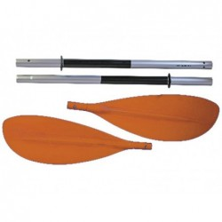 kayak Ruder de kohala 3 Teile 220 cm. Aluminium Ociotrends RK001.