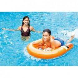Aufblasbarer Bodyboard Surf Rider 102x89 cm de Intex 58154 | Poolsweb