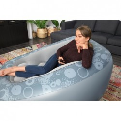 Aufblasbarer Sessel von 152x127x76 cm Combfi Cube Deluxe Bestway 75096 | Poolsweb