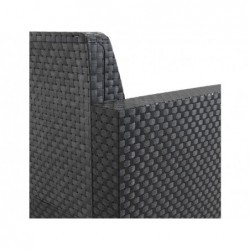Gartenmöbel Modellset Evo Confort Antrazit SP Berner 55404 | Poolsweb