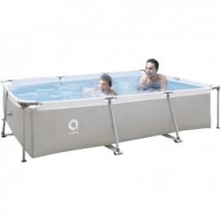 Abnehmbarer Pool mit Aufbereitungsanlage 1136 L. Jilong 17771EU Steel Super Rechteckiger Pool 300x207x65 cm. | Poolsweb