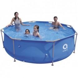 Abnehmbarer Pool mit Aufbereitungsanlage 1136 L. Jilong 17798EU Super Round Pool Set 300x76 cm. | Poolsweb