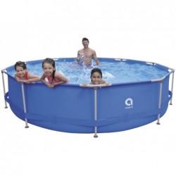 Abnehmbarer Pool mit Aufbereitungsanlage 1136 L. Jilong 17799EU Super Round Pool Set 360x76 cm. | Poolsweb
