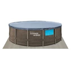 Abnehmbarer Pool von Polygroup P8Q01548BOE Elite Frame Summer Waves mit 457x122 cm. | Poolsweb