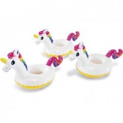 Unicornios Aufblasbarer Getränkehalter Intex 57506 3er Pack