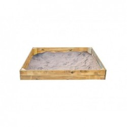 Arenero Infantil de 120x150 cm. Basic Rectangular de Masgames MA600052