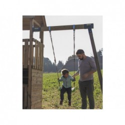 Parque Infantil Lookout M con Columpio Individual de Masgames MA811811   PiscinasDesmontable