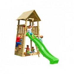 Parque Infantil Belvedere XL con Columpio Individual de Masgames MA802411