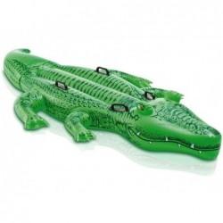 Riesiges Aufblasbares Krokodil Intex 58562 Von 203x114 Zentimeter.