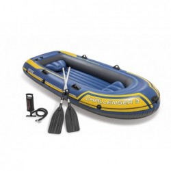 Aufblasbares Boot Challenger 3 Pax. 68370 295x137x43 Cm Intex 68370np