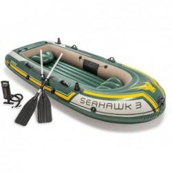 Aufblasbares Boot Seahawk 3 Personen 295x137x43 Cm Intex 60380np