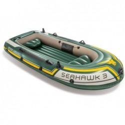 Aufblasbares Boot Seahawk 3 Personen 295x137x43 Cm Intex 60380np   Poolsweb