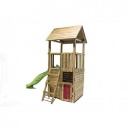 Kinderspielplatz Mit Kleinen Haus Tibidabo Masgames Ma700230