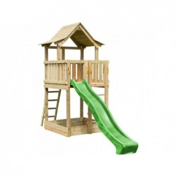 Kinderspielplatz Mit Rutsche Pagoda Xl Masgames Ma802601