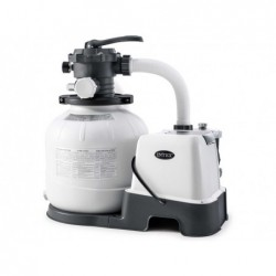 6.000 L / H Intex 26676 Salzsand- Und Chlorfilter-Aufbereitungsanlage