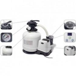 6.000 L / H Intex 26676 Salzsand- Und Chlorfilter-Aufbereitungsanlage | Poolsweb