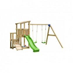 Kinderspielplatz Mit Doppelschaukel Mini Cascade Masgames Ma811521