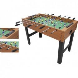 Privater Fussballtisch aus Holz mit 121x61x80 cm