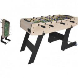 Privater Faltbarer Fussballtisch mit 121x61x80 cm