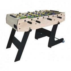 Privater Faltbarer Fussballtisch mit 121x61x80 cm | Poolsweb