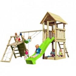 Kinderspielplatz Kiosk Mit Schaukel Challenger Masgames Ma812101