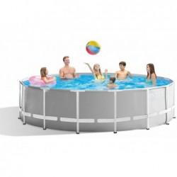 Abnehmbarer Pool Von 457x122 Cm. Prism Frame Premium Intex 26726