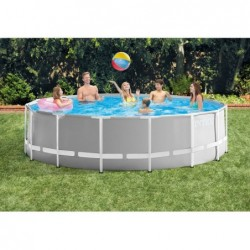 Abnehmbarer Pool Von 457x122 Cm. Prism Frame Premium Intex 26726 | Poolsweb