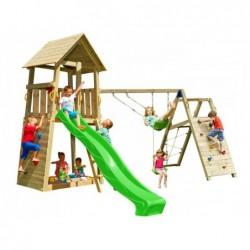 Kinderspielplatz Mit Challenger Belvedere Masgames Ma812401