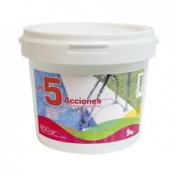 Chlor 5 Aktionen Langsamer Lösung 5 Kg Pqs 55705