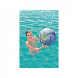 Aufblasbarer Ball Von 61 Cm Erdglobus Mit Led-Licht Bestway | Poolsweb