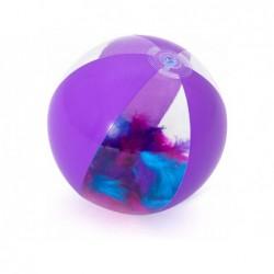 Aufblasbarer Ball Lila Mit Federn Von 41 Cm. Bestway 31051