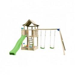Kinderspielplatz Mit Doppel Schaukeln Pagoda Xl Masgames Ma821601