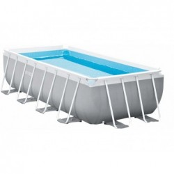Abnehmbarer Pool Von 400x200x100 Cm. Prism Frame Premium Intex 26788