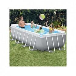 Abnehmbarer Pool Von 400x200x100 Cm. Prism Frame Premium Intex 26788 | Poolsweb