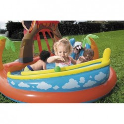 Pool Isla Vulkan Bestway 63069. 265 X 265 X 104 Cm.  | Poolsweb