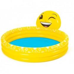 Aufblasbares Kinderbecken 165x144x69 Cm. Emoji Bestway 53081