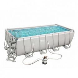Pool Bestway 56671 Abmontierbar. 488 X 244 X 122 Cm.
