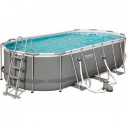 Abnehmbarer Pool 549x274x122 Cm. Power Steel Bestway 56710