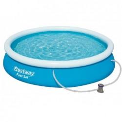 Abnehmbarer Pool 366x76 Cm. Fast Set Bestway 57274
