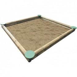 Riesige Sandkaste De 2,5x2,5 M. Masgames Ma600071